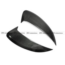 hot deal buy for porsche 981 cayman carbon fiber side air intake duct vent glossy fibre finish exterior trim accessories racing car styling