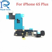 10pcs Lot New Charger Port USB Dock Connector Flex Cable For IPhone For 6S Plus 5