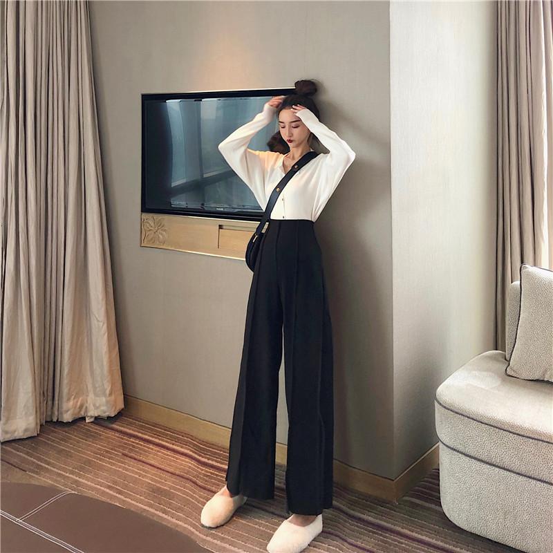 Women's Pants Elegant Style Plaid Pants for Women Autumn Casual Loose Elastic Waist Trousers Harajuku Female Ankle-Length ZT1954 12