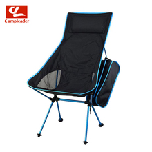 Campleader Out of doors Fishing Chair Barbecue Portray Moveable Backrest Chair Folding Chair Tenting Seashore Stool CL191