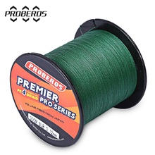 High Quality Durable 300M PE Braided Fishing Line 4 stands 6LBS to 80LB Multifilament Fishing Line Angling Accessories 5 Colors