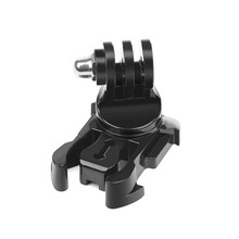 360 Degree Rotate Quick Release Buckle Vertical Surface J-Hook Mount For GoPro Hero 7 6 5 Black 4 SJCAM Yi 4K Eken Action Camera(China)