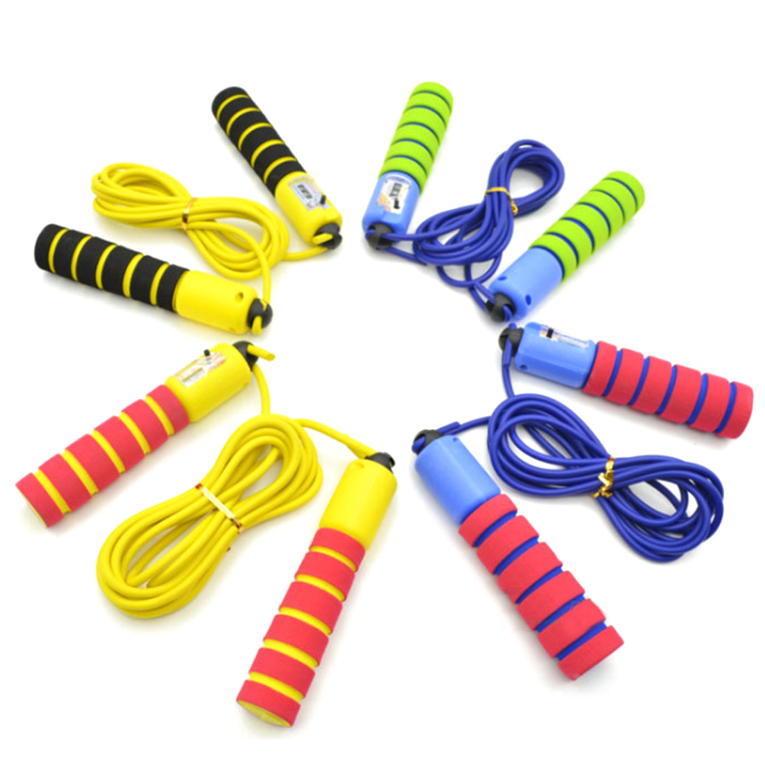 NFSTRIKE jump rope kids Sports Toys For Children Exercise Counting Jump Rope Safety Soft Sports Skipping Ropes Training Tool skipping rope