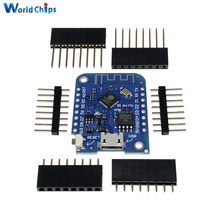 For Wemos D1 Mini V3.0.0 WIFI Internet of Things Development Board Based ESP8266 CH340 CH340G For Arduino Nodemcu V2 MicroPython(China)