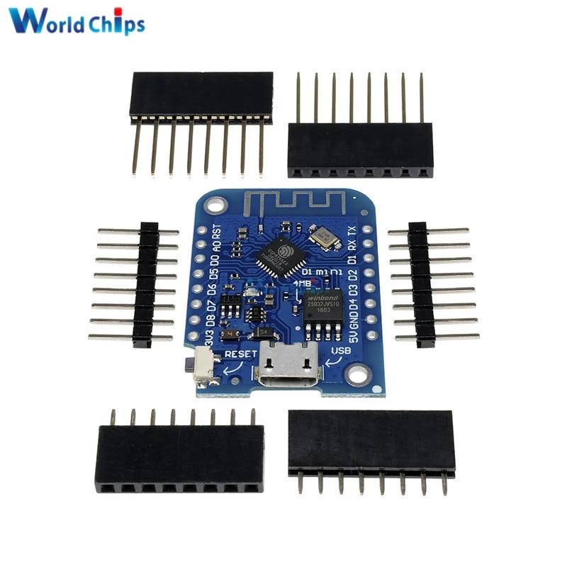Wemos D1 Mini V3.0.0 WIFI Internet ESP8266 CH340G Development Board For Arduino