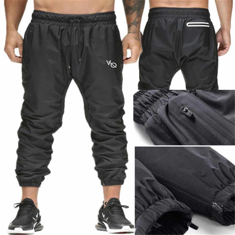 6347771c90 Brand Men Pants Hip Hop Harem Joggers Pants 2019 Vanquish Fitness Male Trousers  Mens Joggers Solid