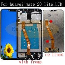 Оригинальный Новый ЖК дисплей Huawei mate 20 lite, сменный дигитайзер сенсорного экрана в сборе, для Huawei mate 20 lite, Huawei mate 20 lite