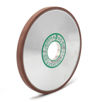 150x32x10x4mm Diamond Grinding Wheel Flat Resin Bond Grinder Disc For Milling Cutter Sharpener Abrasive Rotary Tool