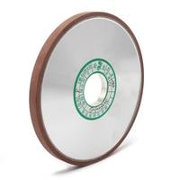 150x32x10x4mm Diamond Grinding Wheel Flat Resin Bond Grinder Disc For Milling Cutter Sharpener Abrasive Rotary Tool