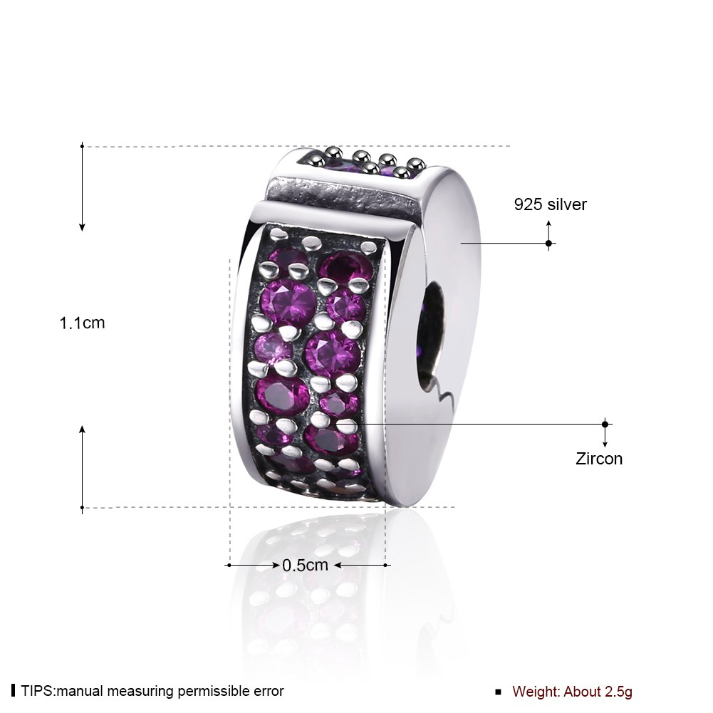 GOMAYA S925 Sterling Silver Drilling Button Series 925 Fine Accessories For Women Ladies Party Jewelry Gifts in Beads from Jewelry Accessories