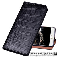 RL02 Genuine Leather Magnet Phone Bag With Kickstand For Xiaomi Redmi Note 6 Pro Phone Case For Redmi Note 6 Pro Flip Cover