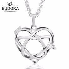Медальон eudora harmony подвеска в виде клетки подарок на беременность