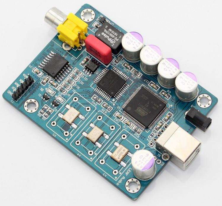 Digital Interface ATSAM3U1C XC2C64A + WM8805 Italy Amanero USB IIS Coaxial Output I2S Output DSD Format