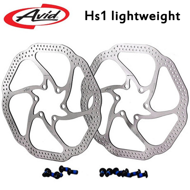 цена на Avid HS1 Heat Shedding Bike Cycle 6 Disc Brake Rotor 160mm 6 Bolts T25 BB5/BB7