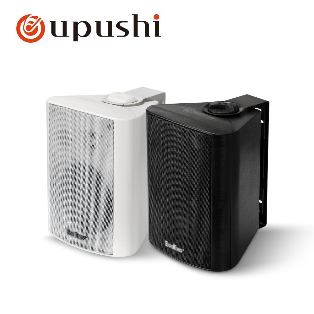 Best wall mount speakers 20w 40w pa sound system 6 5 inch full range loudspeakers oupushi