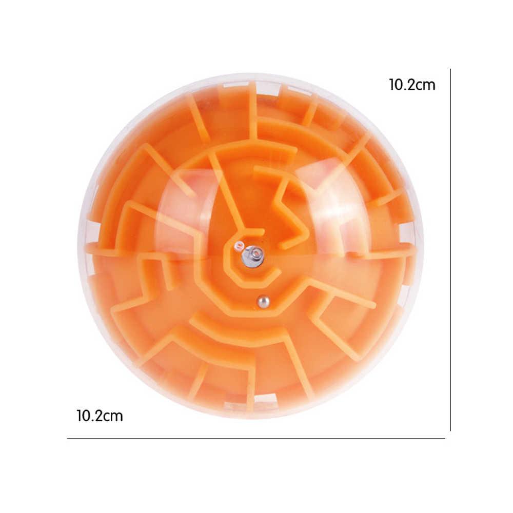 3D лабиринт мяч игрушки головоломка трек скорость баланс Пальчиковый прокатный шар Развивающая игра игрушка