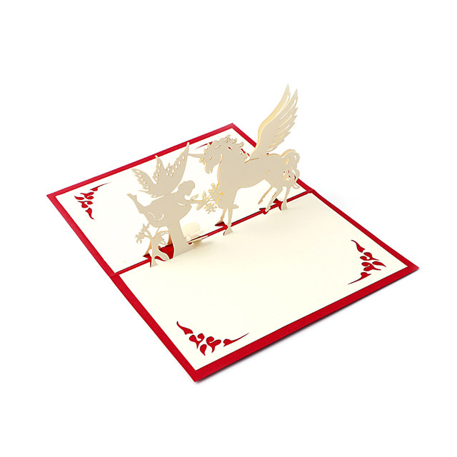 Online shop holiday greeting cards 3d stereoscopic paper laser cut holiday greeting cards 3d stereoscopic paper laser cut greeting card postcards handmade custom souvenirs party supplies nice m4hsunfo