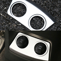 For KIA Sportage 4 QL 2016 2017 Car Styling ABS Chrome Inner Cigarette Lighter Decoration Frame Trim Auto Accessories 3D Covers