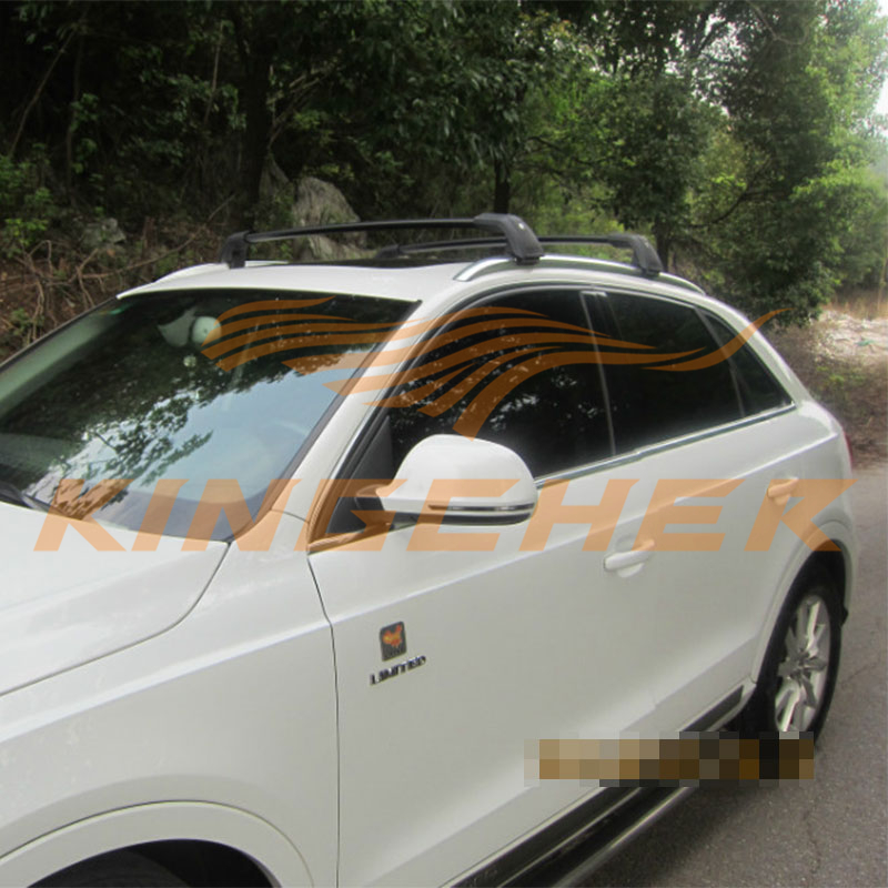 Fit For BMW X1 X3 X4 X5 Audi Q3 Q7 KC Aluminium Crossbars Baggage Luggage  Roof