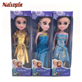 Boneca elsa muñecas muñeca princesa de los niños de la manera mini toys lovely dolls anna elsa gilf birthday party toys for kids 2 unids