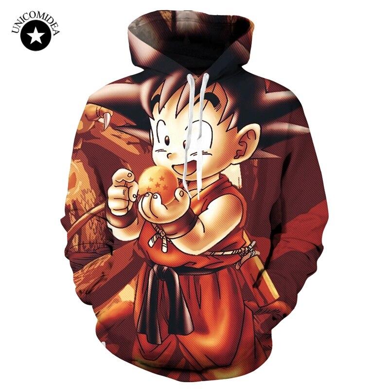 719db5abff55 Unicomidea Anime Men Women Sweatshirts Dragon Ball Z Son Goku Long Sleeve  Hoody Harajuku Outerwear Jackets 3D Hoodies Pullovers-in Hoodies    Sweatshirts ...
