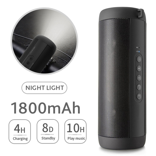 Waterproof Portable Bluetooth Speaker – Music Bass Outdoor