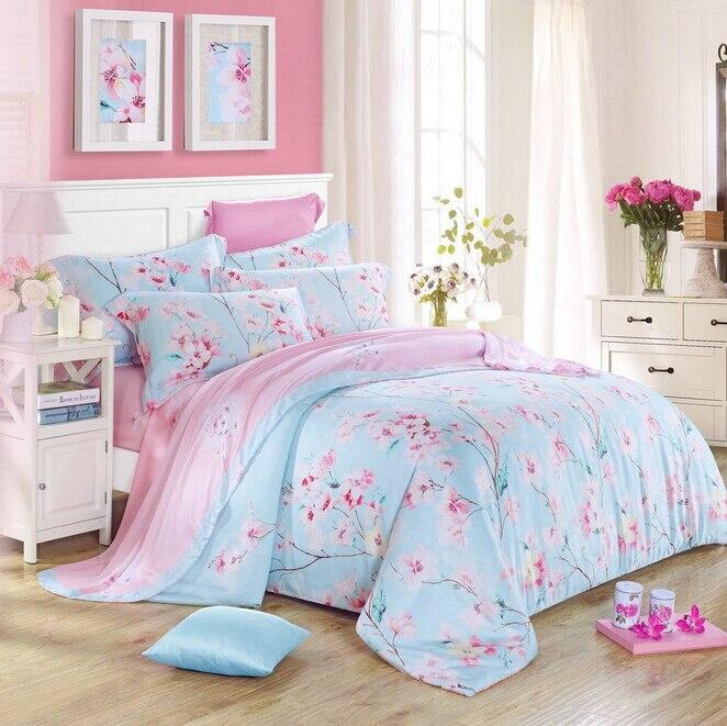 Fundas de plumones de cama 4 unidades de impresi n reactiva ropa de cama colchas funda n rdica - Fundas para cama ...