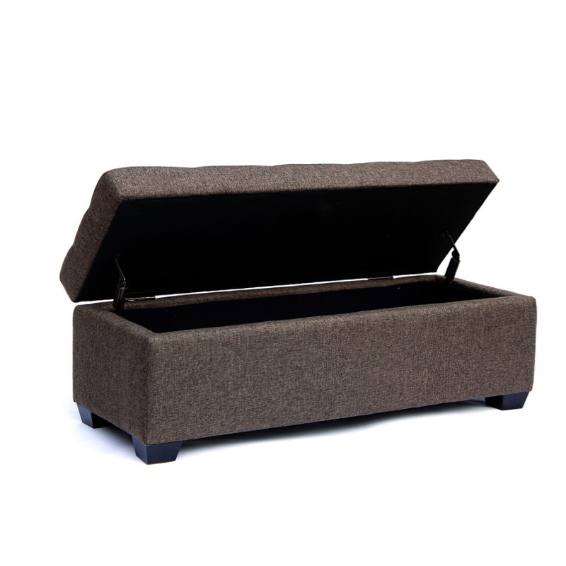 Vistoso Muebles De Madera De Heces De Almacenamiento Adorno ...