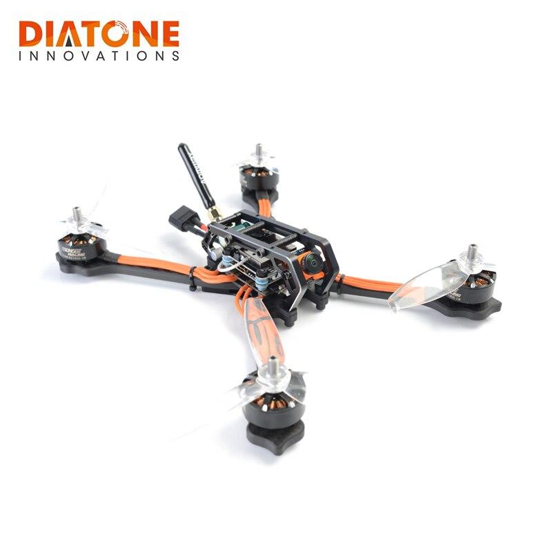 Os Recém-chegados Diatone 2018 GT-M540 Stretch/Normal X 6 S Corrida de RC FPV Zangão Quadcopter PNP OSD F4 TBS 800 mW 40A 3-6 S Modelos ESC