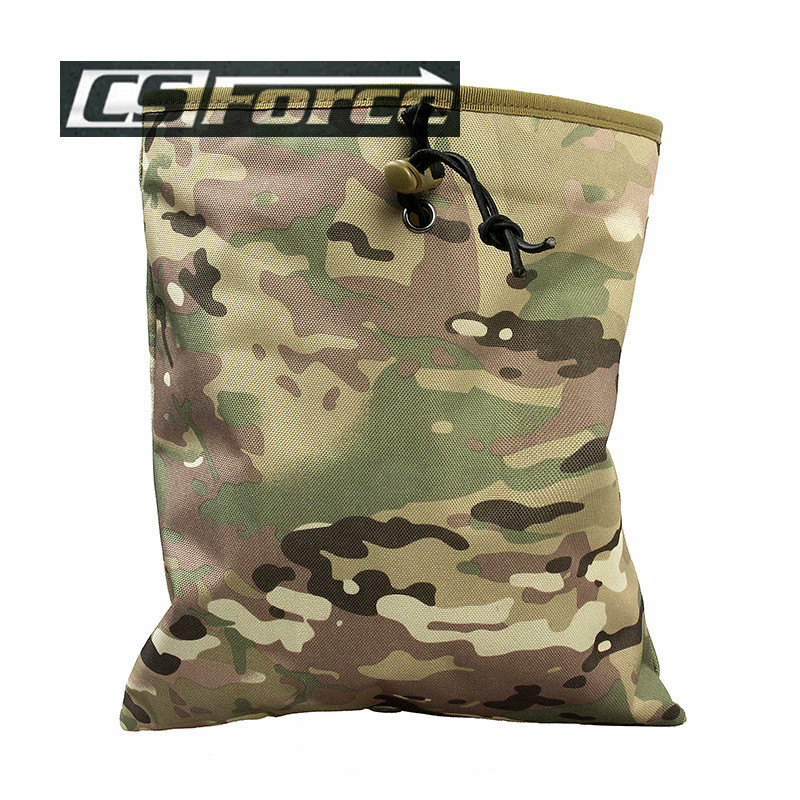 CS Force Military Tactical Gear Hunting Recovery Molle Dump Magazine Pouch Ammo Bags Airsoft Paintball Accessories
