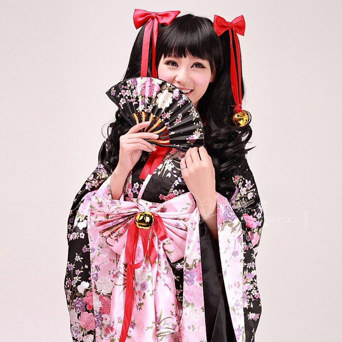 New Arrival Japan Kimono Cosplay Halloween Show Costumes For Women Sexy Fancy Dress Costumes