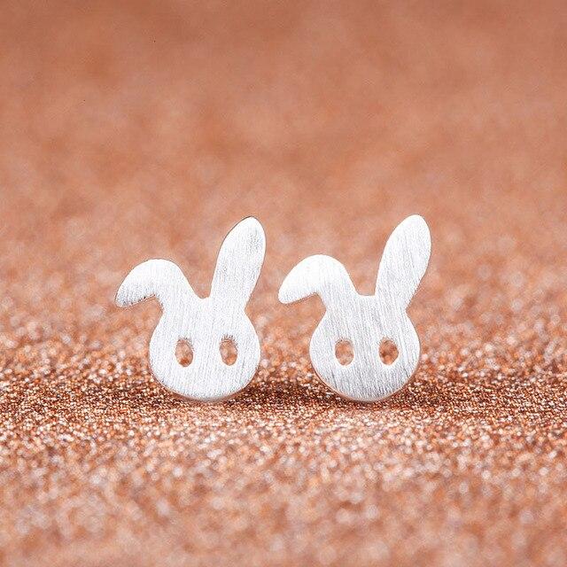 2016 mignon petit lapin dessin boucles d 39 oreilles pour les - Dessin oreille de lapin ...
