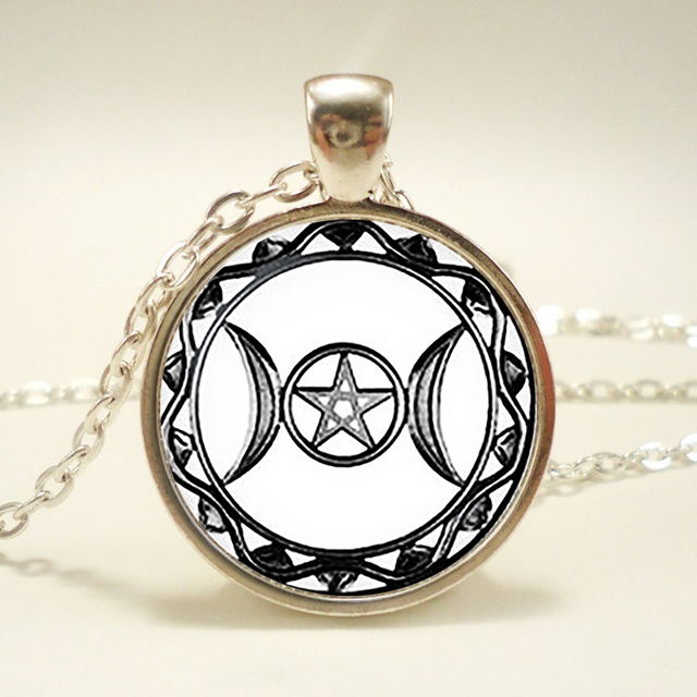 Triple moon goddess pendant triple moon goddess necklace triple triple moon goddess pendant triple moon goddess necklace triple moon goddess sign jewelry mozeypictures Image collections