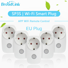 Broadlink Original SP3S WiFi Smart Socket 1/2/3/5Pcs EU Plug Outlet work for ALexa Google Home Smart Home APP Remote Control