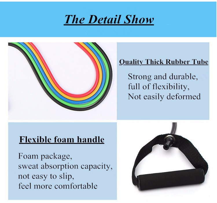 resistance band, elastic resistance bands, yoga pull band, yoga pull rope - HTB17Oq5rXuWBuNjSspnq6x1NVXa8 - 120cm Elastic Resistance Bands – Fitness Pull Rope for Yoga and Home Workout - Fititudestore