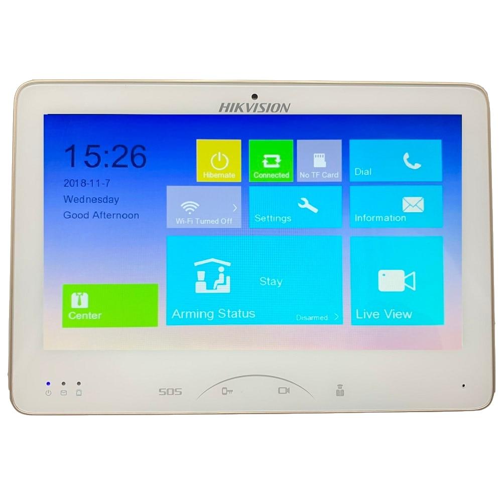 Hikvision ds V1.5.0 DS-KH8501-WT Video di Interni Touchscreen 10-inch Monitor 1024X600 0.3MP macchina fotografica, wired campanello