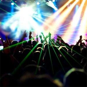 Image 5 - ALIEN DMX 100mW Green Laser Stage Lighting Scanner Effcet Xmas Bar Dance Party Show Light DJ Disco Laser Projector Lights
