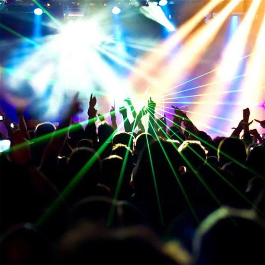 ALIEN DMX 100mW vert Laser scène éclairage Scanner Effcet barre de noël danse fête spectacle lumière DJ Disco Laser projecteur lumières - 6
