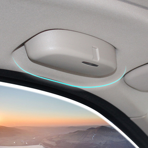 Image 1 - Étui pour lunettes de voiture, boîte dédiée pour BMW série 1 2 3 5, F30 F34 320 328 F07 F10 F11 520 528 X1 X3 X5, accessoires automobiles de 2010 à 2017