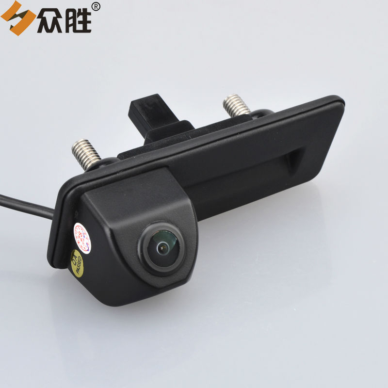 Car Rear View Camera for Skoda Octavia 2010 2012 2013 Auto Trunk Handle Backup Reverse Parking Assistance Rearview Camera LS8011 dynamic trajectory tracking auto backup parking reverse camera rearview rear view reversing parking camera for ford focus 2012