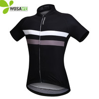 WOSAWE Men Cycling Jersey Bike Bicycle Short Sleeves Jersey Mountaion Clothing MTB Jersey Shirts T Shirt