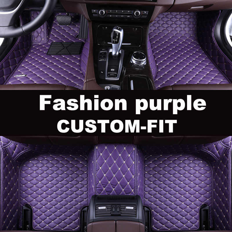 Araba kat mat fit Sol veya sağ el sürücü fit Hyundai IX30Elantra Santa Fe Sonata Tucson Ren nfc Grand Santafe 5D araba-styling
