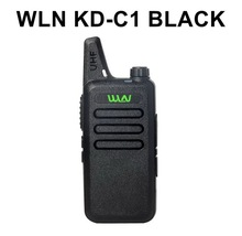 WLN KD-C1 Portable 2 way Radio in RUSSIA WAREHOUSE 5W long distance UHF walkie talkie with FREE EARPHONE