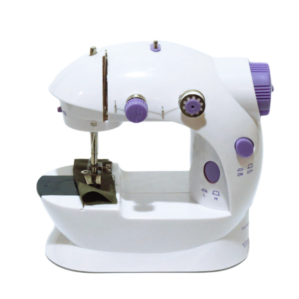 Mini Portable Handheld Sewing Machines Stitch Sew Needlework Cordless Clothes Fabrics Sewing Machine