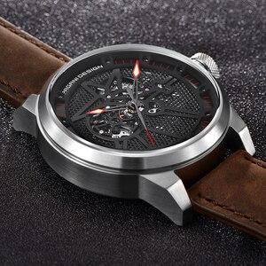 Image 4 - PAGANI DESIGN Men Watch Fashion Luxury Brand Automatic Mechanical Watch Men Waterproof Tourbillon Sports Clock Relogio Masculino