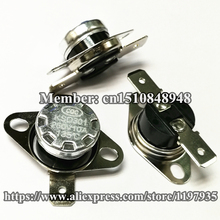 KSD301 Thermostat temperature switch 135 degrees  250V 10A  135 degrees цена и фото