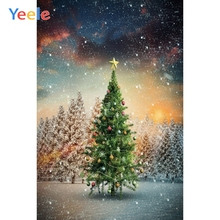 Yeele Christmas Family Party Wallpaper Decor Tree Photography Backdrops Personalized Photographic Backgrounds For Photo Studio