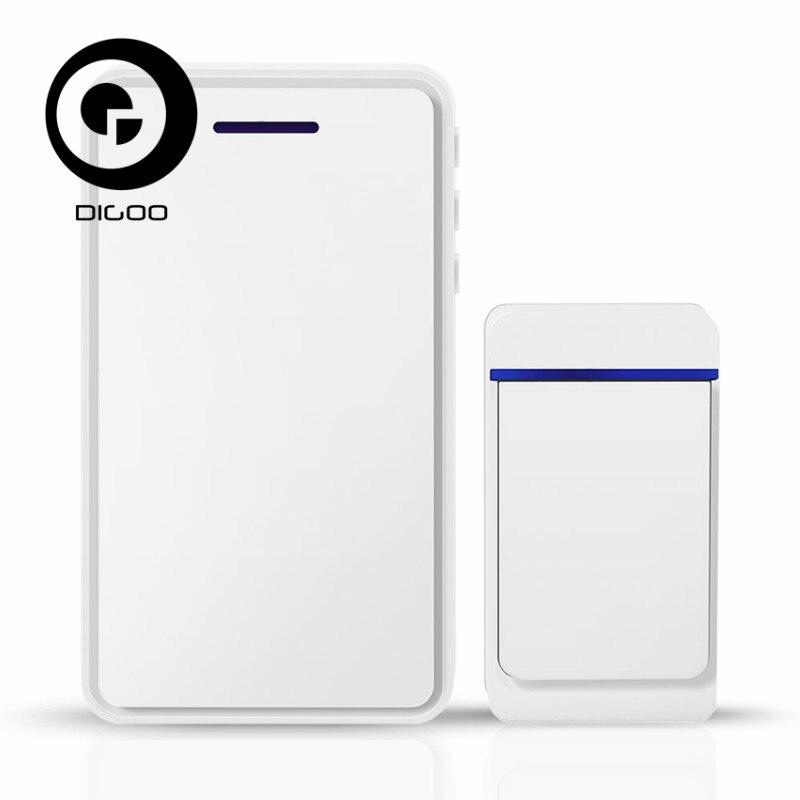 DIGOO DG-ZTA ZTA In/Outdoor 433MHz Wireless Doorbell Waterproof 52 Melodies 5 Levels Smart Home Work with SBXYA Video Doorbell dg home стул james