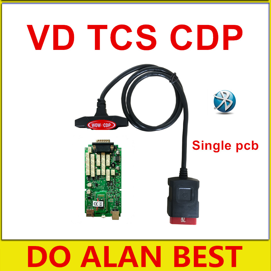 10pcslot ne-c relay single pcb VD TCS CDP pro with bluetooth obd2 scanner for cars or truck Free shipping