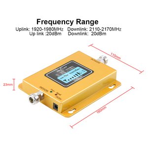 Image 5 - 3g Repeater 2100 Cell Phone Signal Repeater 2100MHz Mobile Phone Signal Booster Amplifier,LCD Mini 70db 3G LTE WCDMA UMTS